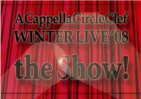 立命館大学アカペラサークルClef 『the Show!』