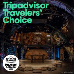 世界最大の旅行プラットフォームTripadvisorのトラベラーズチョイス2020に『ギア専用劇場』が選出されました!