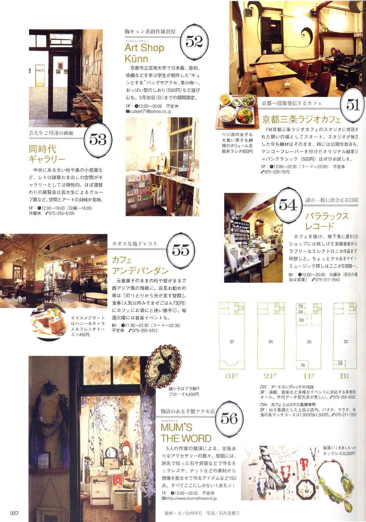 『レトロビルの店123』Lmagazine/2008年4月号